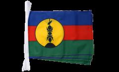 Fahnenkette Frankreich Neukaledonien Kanaky - 30 x 45 cm