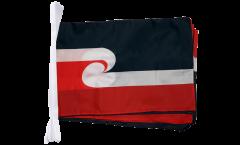 Fahnenkette Neuseeland Maori - 30 x 45 cm