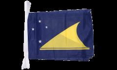 Fahnenkette Tokelau - 30 x 45 cm