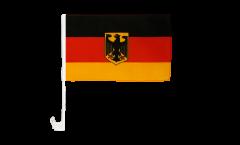 Autofahne Deutschland mit Adler - 30 x 40 cm