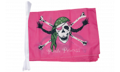 Fahnenkette Pirat Pirate Princess Prinzessin - 30 x 45 cm