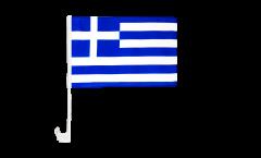Autofahne Griechenland - 30 x 40 cm