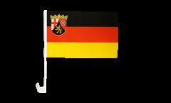 Autofahne Deutschland Rheinland-Pfalz - 30 x 40 cm