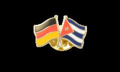 Freundschaftspin Deutschland - Kuba - 22 mm