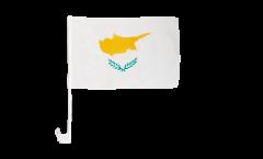 Autofahne Zypern - 30 x 40 cm
