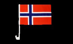 Autofahne Norwegen - 30 x 40 cm
