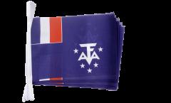 Fahnenkette Frankreich Französische Süd- und Antarktisgebiete - 15 x 22 cm