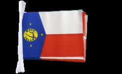 Fahnenkette Wake Island - 15 x 22 cm