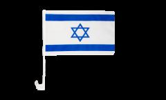 Autofahne Israel - 30 x 40 cm