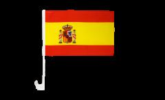 Autofahne Spanien - 30 x 40 cm