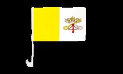 Autofahne Vatikan - 30 x 40 cm