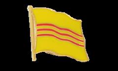 Flaggen-Pin Vietnam alt (Südvietnam) - 2 x 2 cm