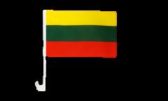 Autofahne Litauen - 30 x 40 cm
