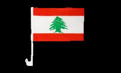 Autofahne Libanon - 30 x 40 cm