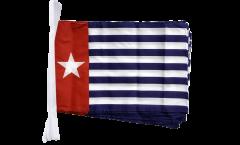 Fahnenkette West-Neuguinea / West-Papua - 30 x 45 cm