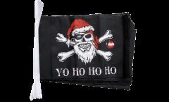 Fahnenkette Pirat Yo ho ho - 30 x 45 cm