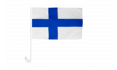 Autofahne Finnland - 30 x 40 cm