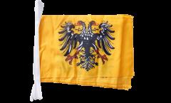 Fahnenkette Heiliges Römisches Reich Deutscher Nation nach 1400 - 30 x 45 cm
