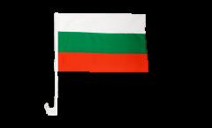Autofahne Bulgarien - 30 x 40 cm