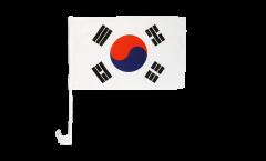 Autofahne Südkorea - 30 x 40 cm