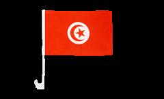 Autofahne Tunesien - 30 x 40 cm