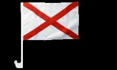 Autofahne USA Alabama - 30 x 40 cm