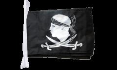 Fahnenkette Pirat Korsika - 30 x 45 cm