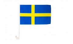 Autofahne Schweden - 30 x 40 cm