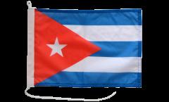 Bootsfahne Kuba - 30 x 40 cm