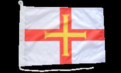 Bootsfahne Großbritannien Guernsey - 30 x 40 cm