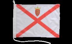 Bootsfahne Großbritannien Jersey - 30 x 40 cm