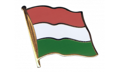 Flaggen-Pin Ungarn - 2 x 2 cm