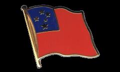 Flaggen-Pin Samoa - 2 x 2 cm