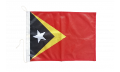 Bootsfahne Osttimor - 30 x 40 cm