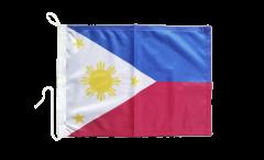 Bootsfahne Philippinen - 30 x 40 cm