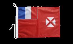 Bootsfahne Wallis und Futuna - 30 x 40 cm