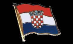 Flaggen-Pin Kroatien - 2 x 2 cm
