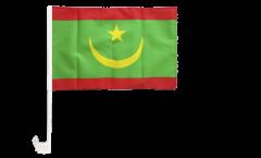 Autofahne Mauretanien - 30 x 40 cm