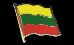 Flaggen-Pin Litauen - 2 x 2 cm