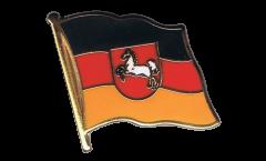 Flaggen-Pin Deutschland Niedersachsen - 2 x 2 cm