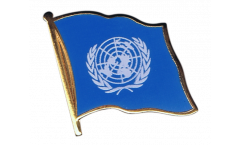 Flaggen-Pin UNO - 2 x 2 cm