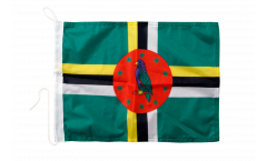 Bootsfahne Dominica - 30 x 40 cm