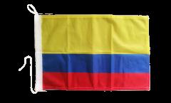 Bootsfahne Kolumbien - 30 x 40 cm