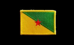 Aufnäher Frankreich Französisch Guayana - 8 x 6 cm