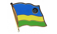 Flaggen-Pin Ruanda - 2 x 2 cm