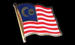 Flaggen-Pin Malaysia - 2 x 2 cm