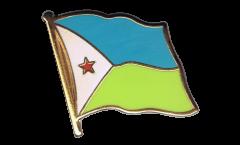 Flaggen-Pin Dschibuti - 2 x 2 cm