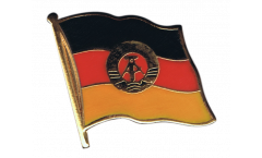 Flaggen-Pin Deutschland DDR - 2 x 2 cm