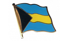 Flaggen-Pin Bahamas - 2 x 2 cm