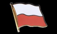 Flaggen-Pin Polen - 2 x 2 cm
